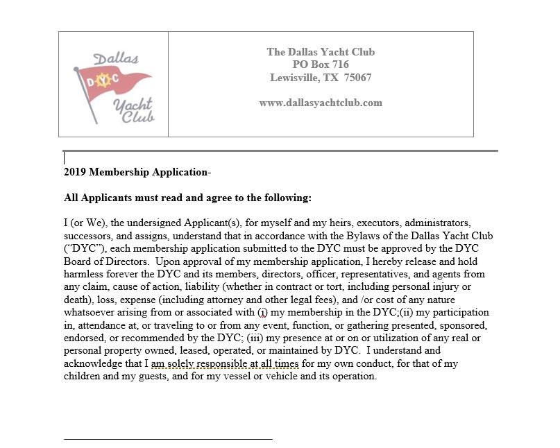 Click to View and Print Application